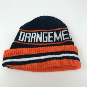 VTG Syracuse Orangmen Winter Hat Made in USA NCAA